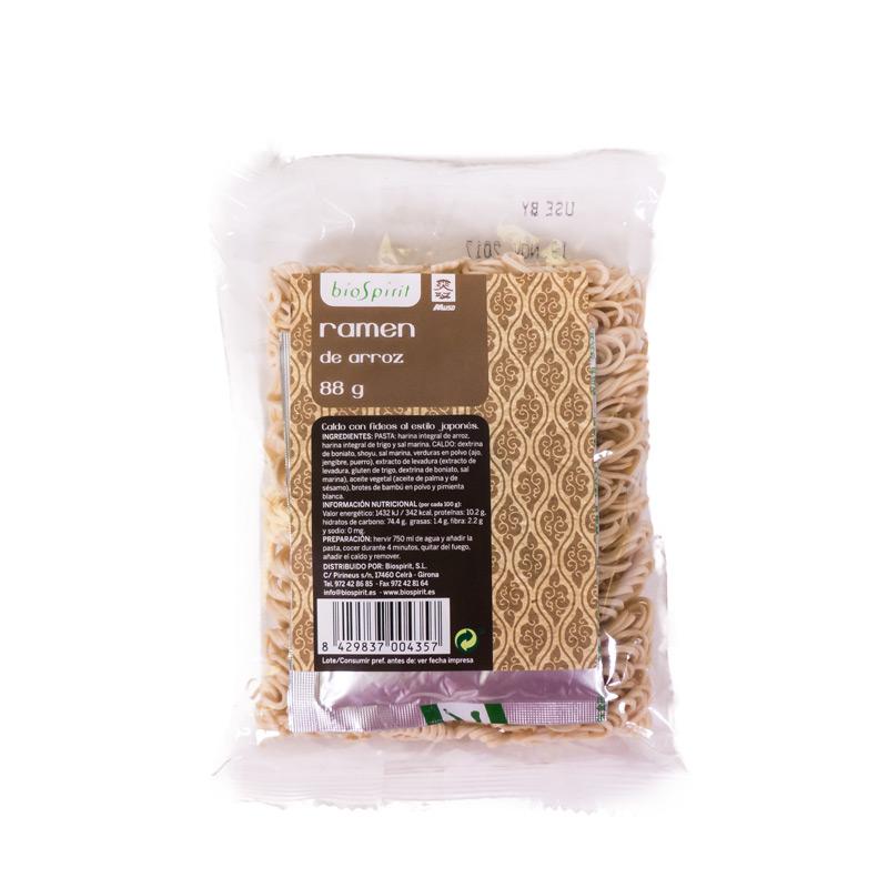 Ramen de arroz 80 gr Biospirit
