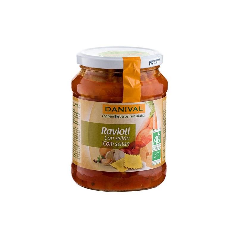 Raviolis de seitán con tomate 670 gr Danival
