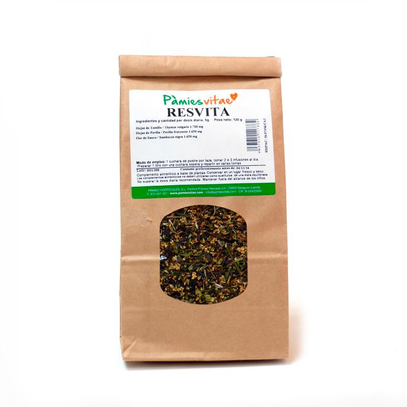 Resvita (resfriado) granel 120 gr Pàmies