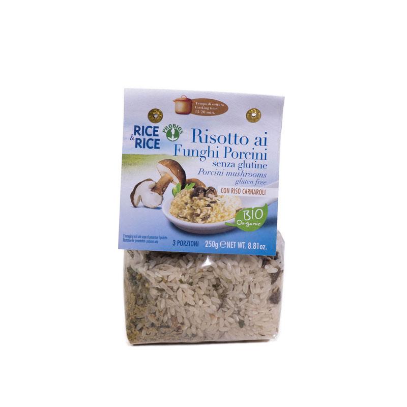 Risotto con setas 250 gr. Rice&Rice