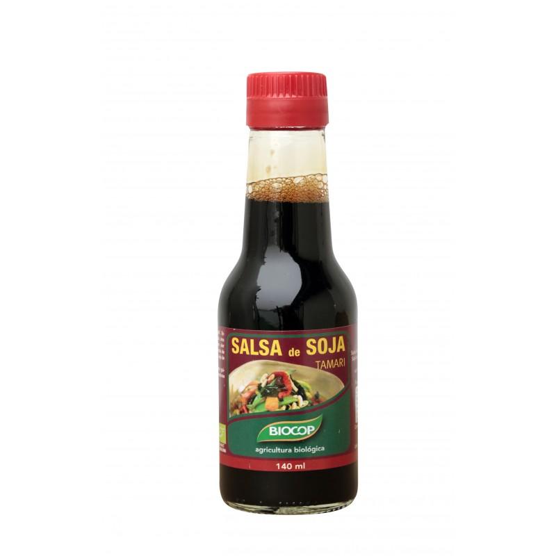 Salsa de soja tamari 140 ml. Biocop