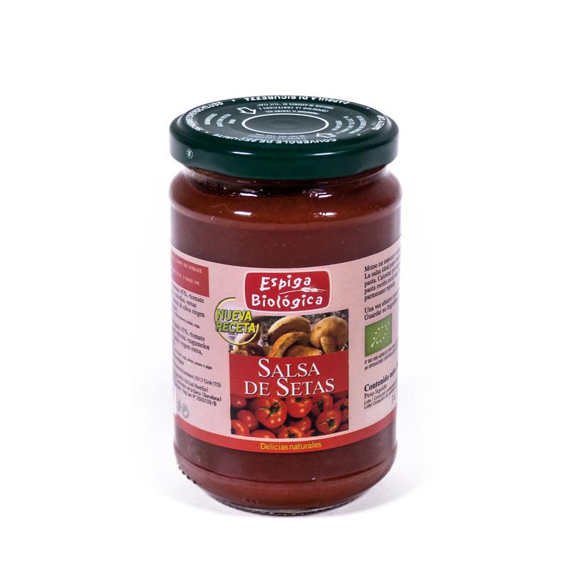 Salsa de tomate con setas 300gr Espiga