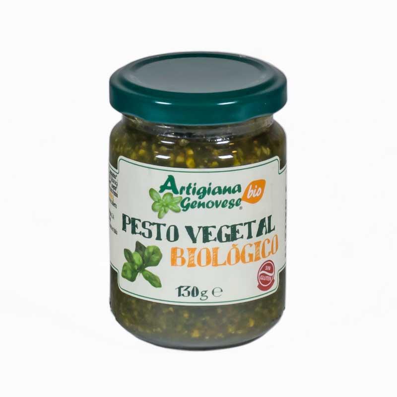 Salsa pesto vegetal 130 gr. Artigiana