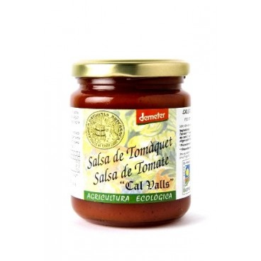 Salsa tomate 270gr Cal Valls