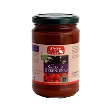 Salsa tomate con berenjena 300gr Espiga