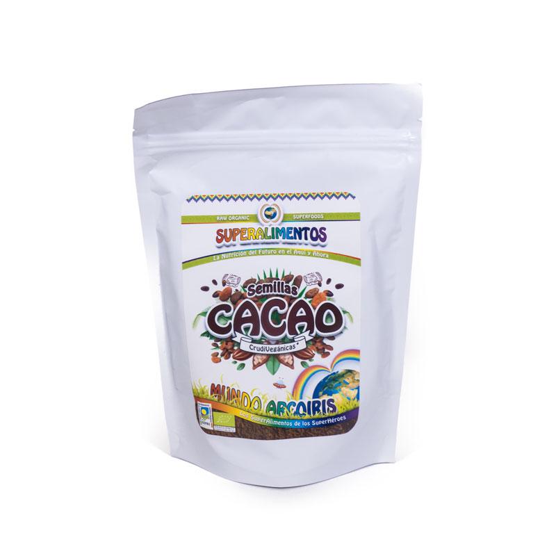Semillas de cacao 250 gr. Arcoiris