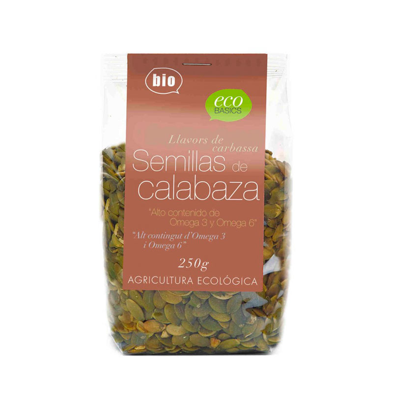 Semillas de calabaza 250 gr Ecobasic