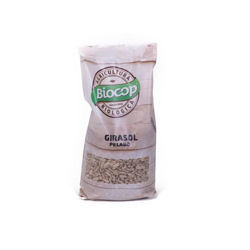 Semillas de girasol peladas 250 gr Biocop