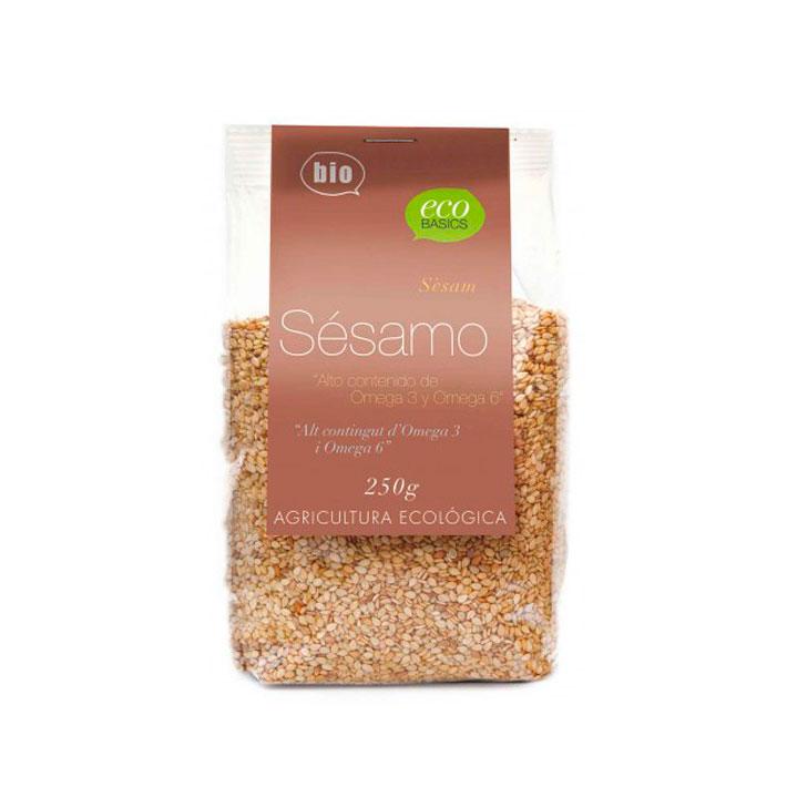 Semillas de sesamo natural 250 gr Ecobasics