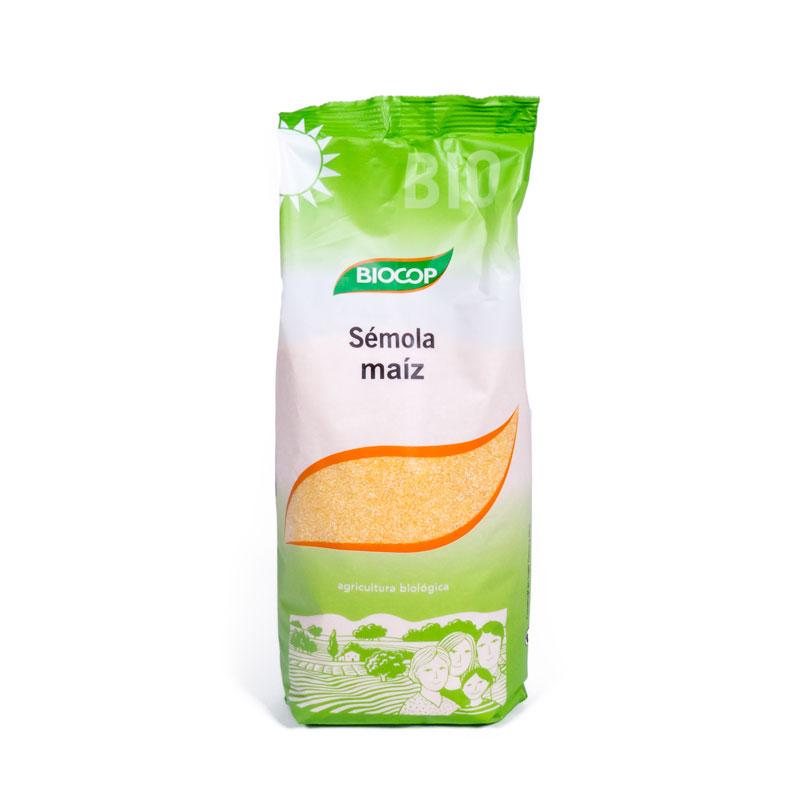 Semola de maiz 500gr Biocop