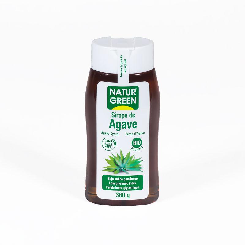 Sirope de agave 360 gr. Naturgreen