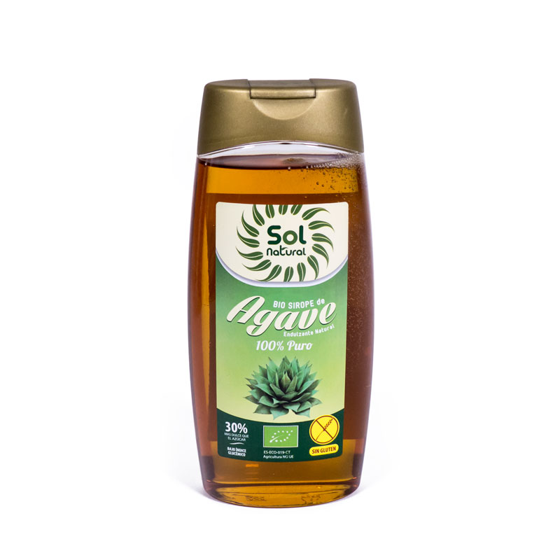 Sirope de agave 500 ml. Sol Natural