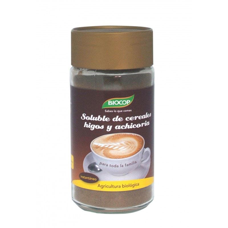 Soluble cereales higo-achicoria 100gr Biocop