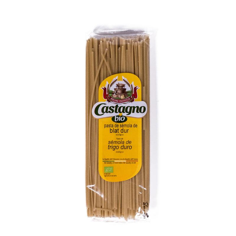 Tallarines de trigo 500 gr. Castagno