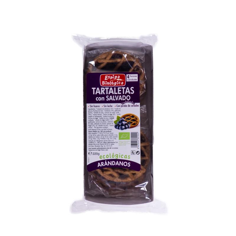 Tartaletas con arandanos 220 gr. La Espiga