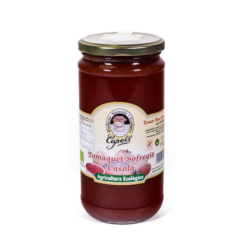 Tomate frito casero 700gr Capell