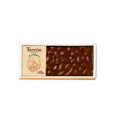 Turron chocolate almendras 200 gr. Solé