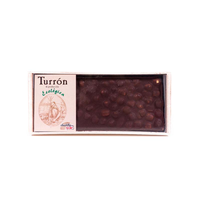 Turron chocolate avellanas 200 gr. Solé