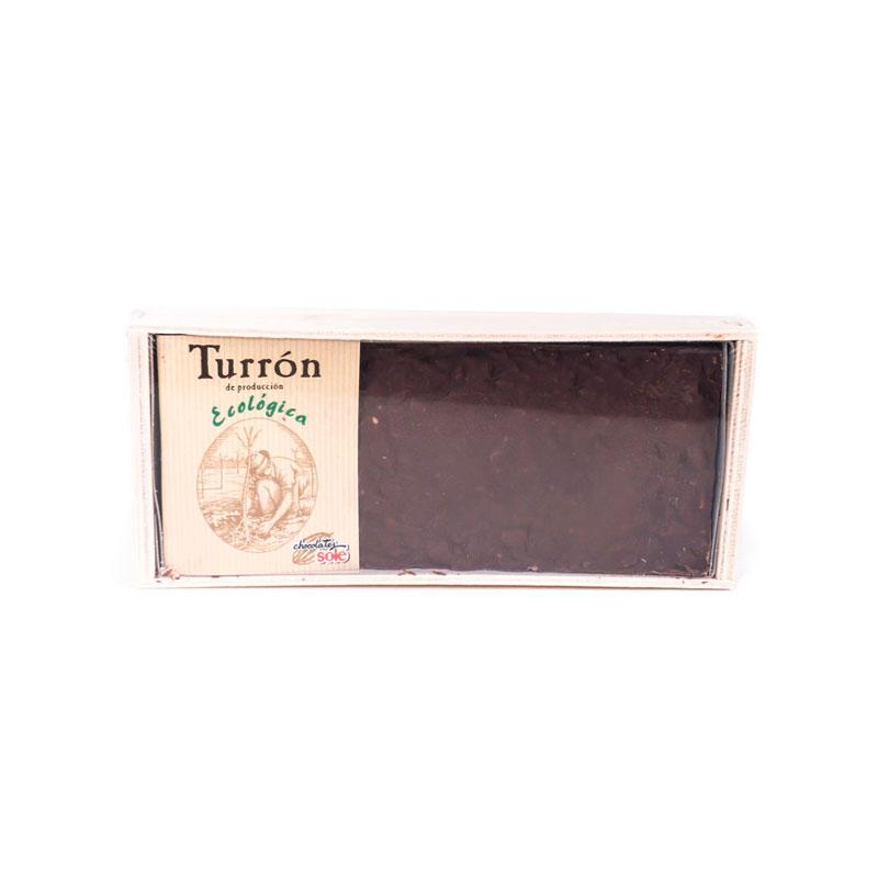 Turron chocolate nueces 200 gr. Solé