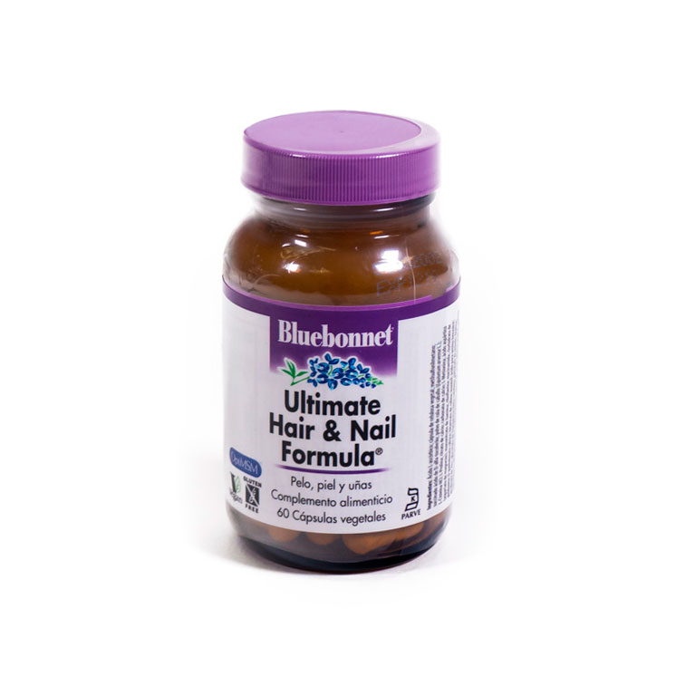 Ultimate Hair & Nail 60 cap. Bluebonnet