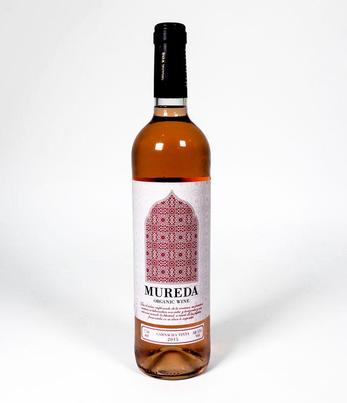 Vino Rosado Garnacha 750 ml. Mureda