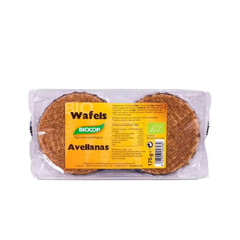 Wafels de avellanas 175 gr. Biocop