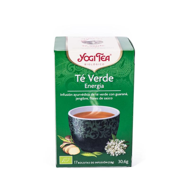 Yogi Tea te verde energía 17 bolsitas