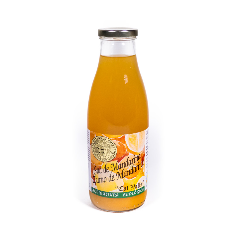 Zumo de mandarina 750 ml. Cal Valls