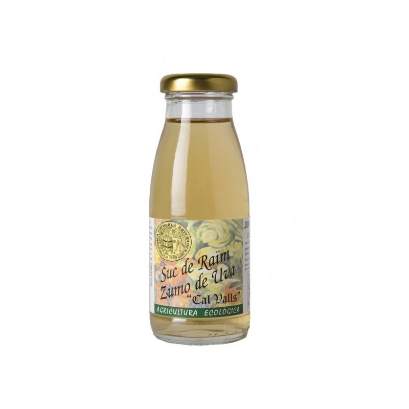 Zumo de uva blanca 200 ml. Cal Valls