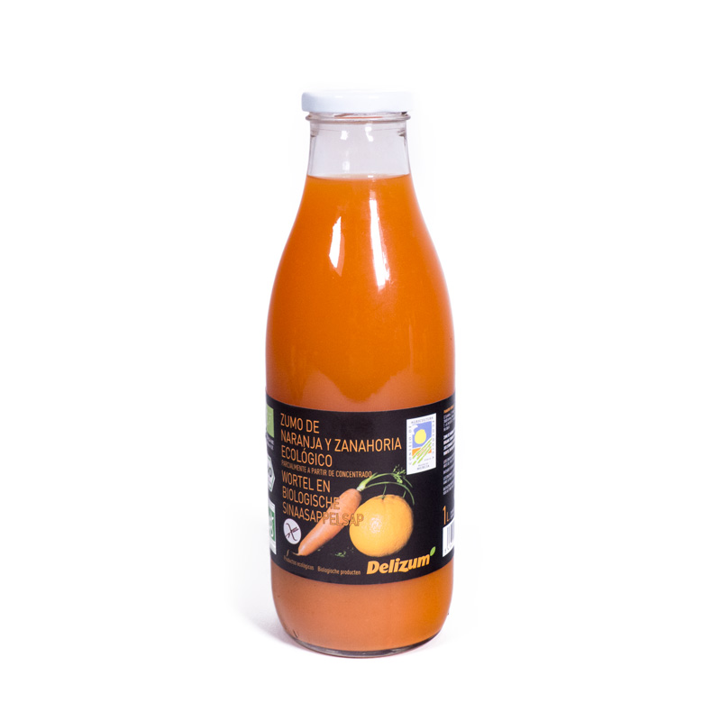 Zumo de zanahoria y naranja 1 L. Delizum