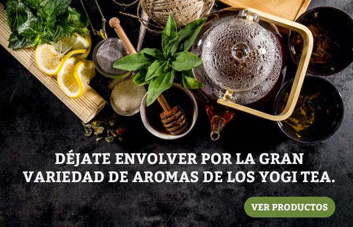 Aromas Yogi Tea
