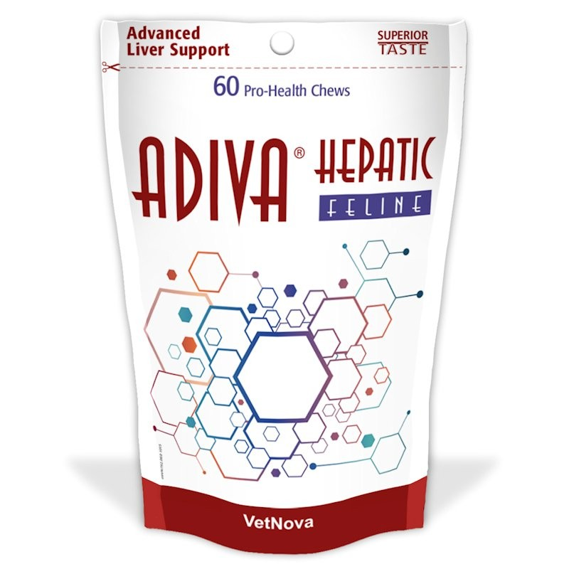 ADIVA HEPATIC FELINE 60 Chews