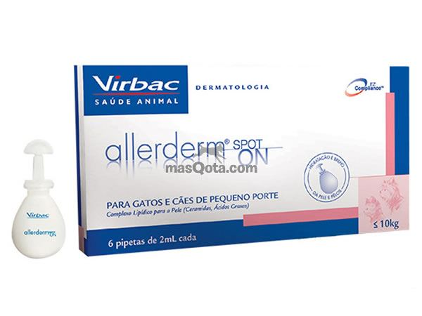 ALLERDERM SPOT-ON 6 Pipetas 2ml
