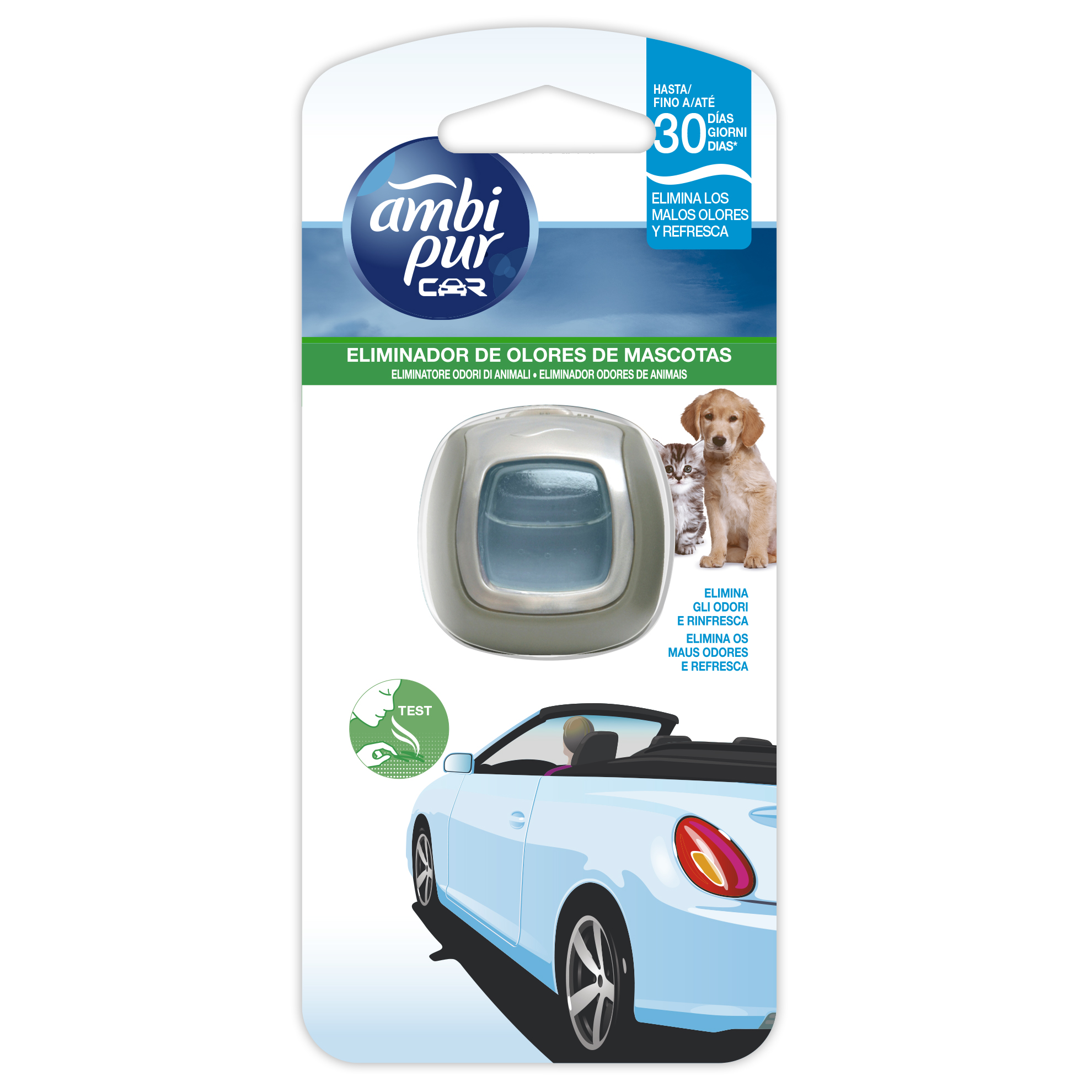 AMBIPUR CAR DESECHABLE PET CARE 2ml