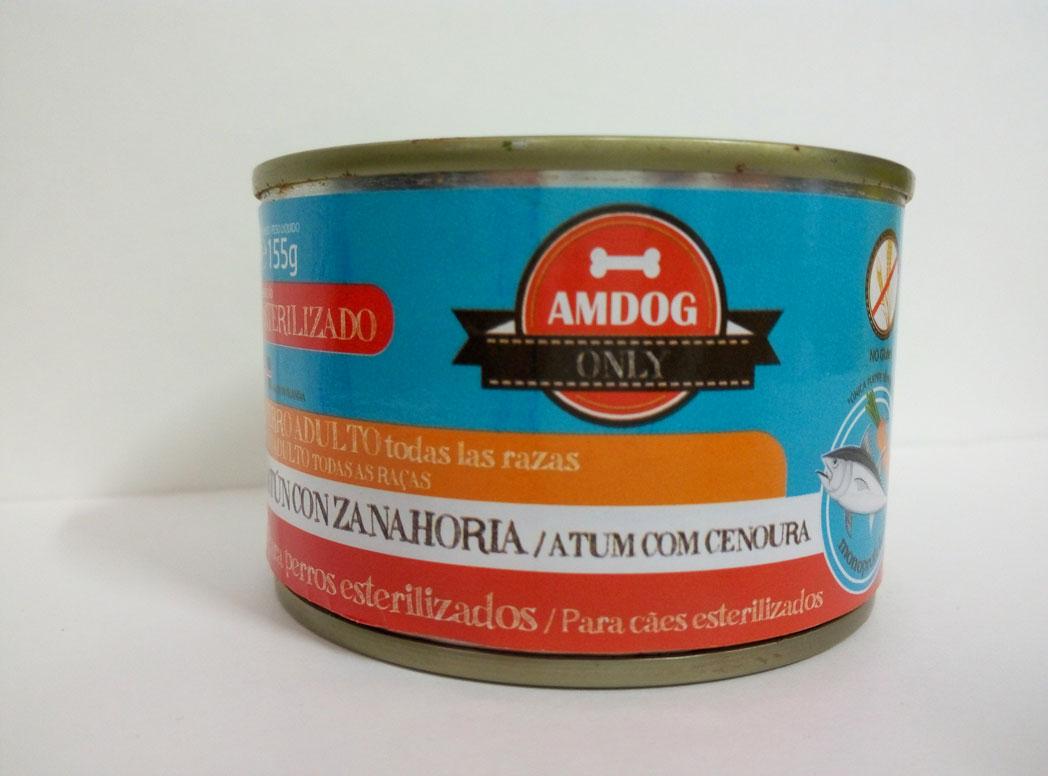 AMDOG ATÚN Y ZANAHORIA 155g (PERRO ADULTO) - ESTERILZADO