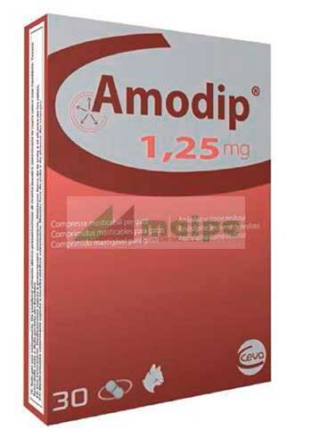 Amodip 1.25mg (30 Comprimidos)