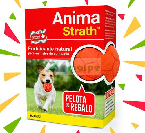 ANIMA STRATH 100ml + PELOTA CAUCHO NATURAL