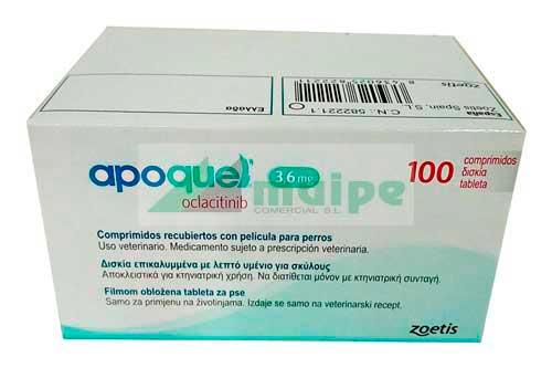 APOQUEL 3.6mg (100 Comprimidos)