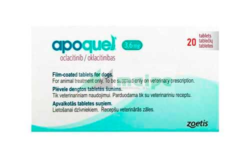 APOQUEL 3.6mg (20 Comprimidos)