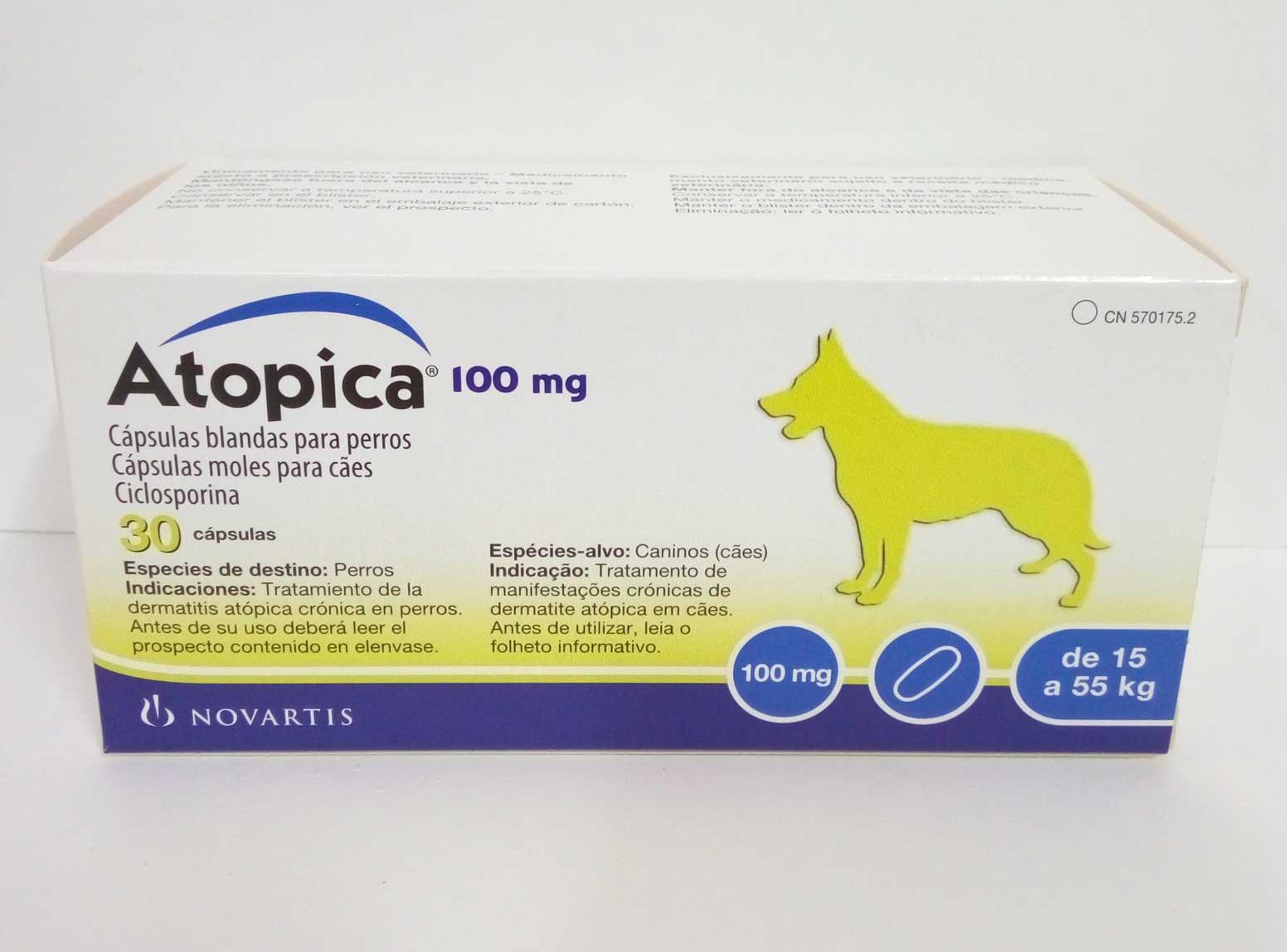 ATOPICA 100mg  30 Cápsulas