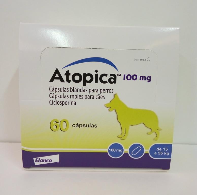 ATOPICA 100mg 60 Cápsulas