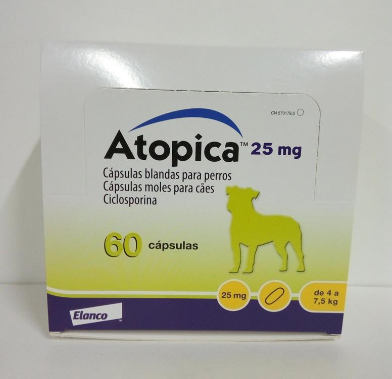 ATOPICA 25mg 60 Cápsulas