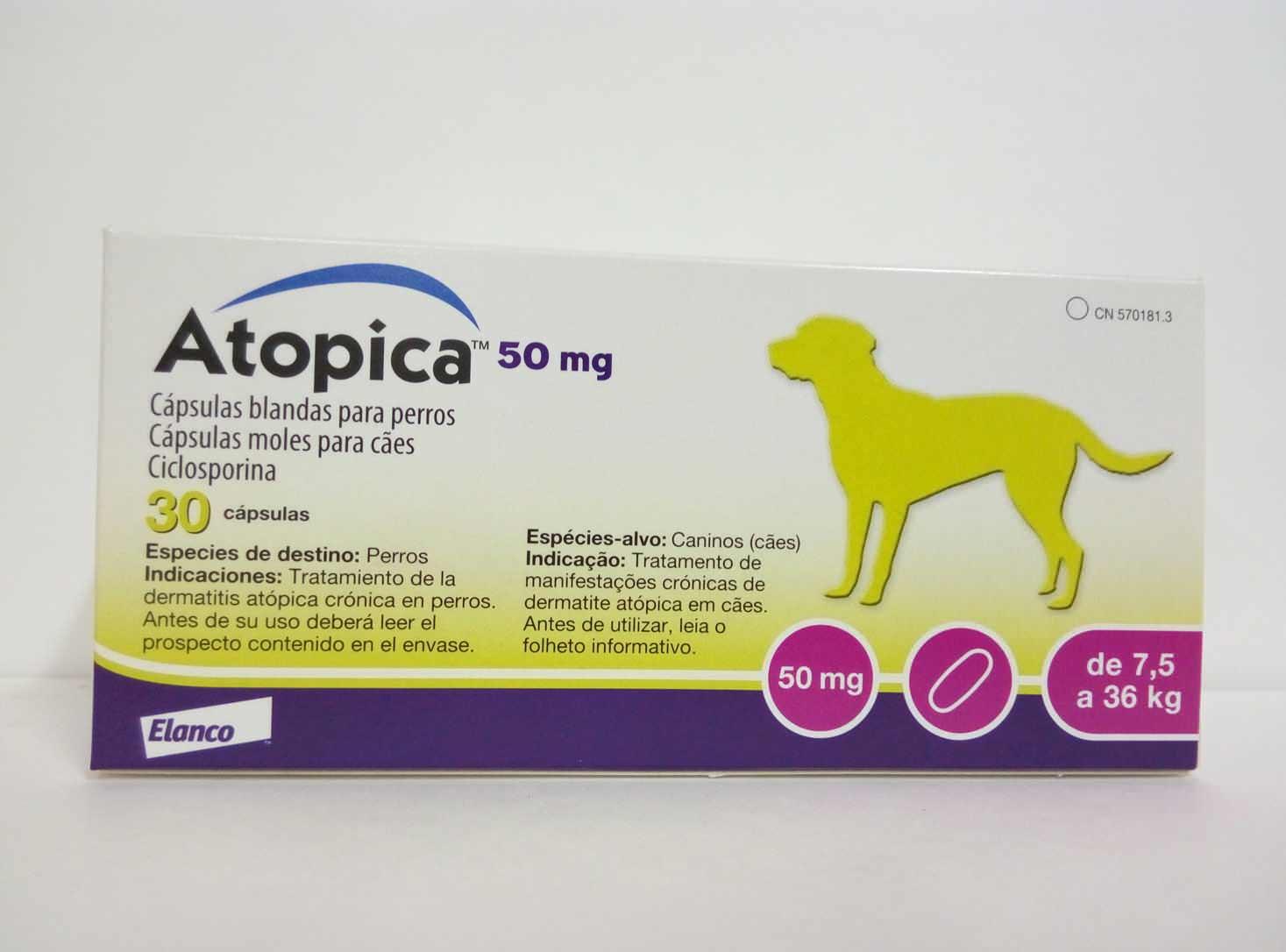 ATOPICA 50mg 30 Cápsulas