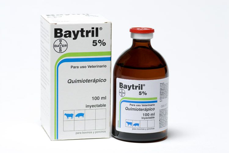 BAYTRIL INYECTABLE 5%  100 ML