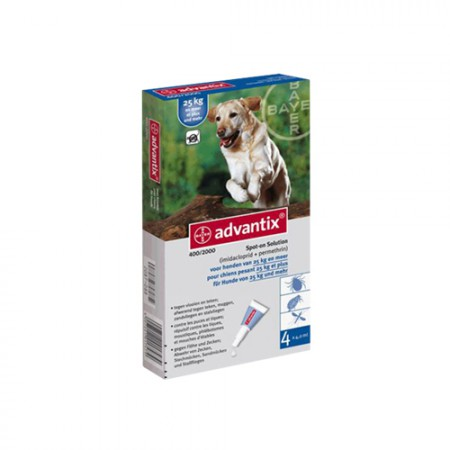ADVANTIX  4 x 4.0