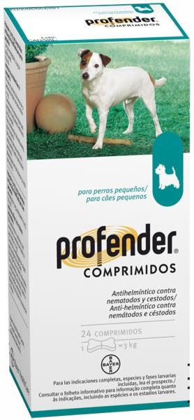 PROFENDER Perro 3 Kg.  24 Comp.