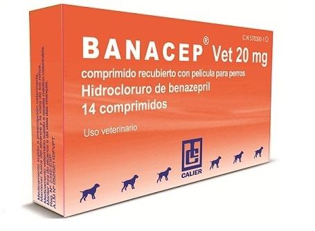 BANACEP Vet 20mg 14 Comprimidos