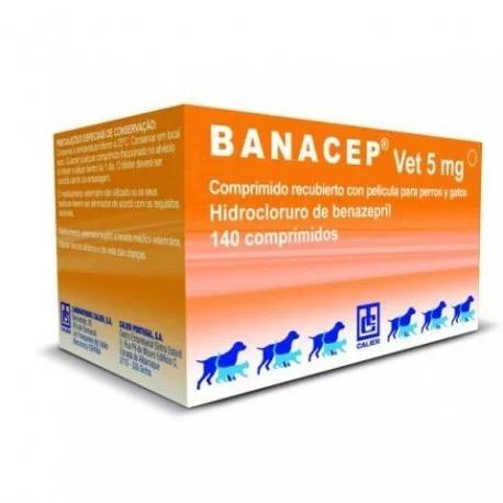 BANACEP Vet 5mg - 140 Comprimidos