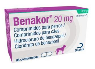 BENAKOR 20 MG 98 COMP