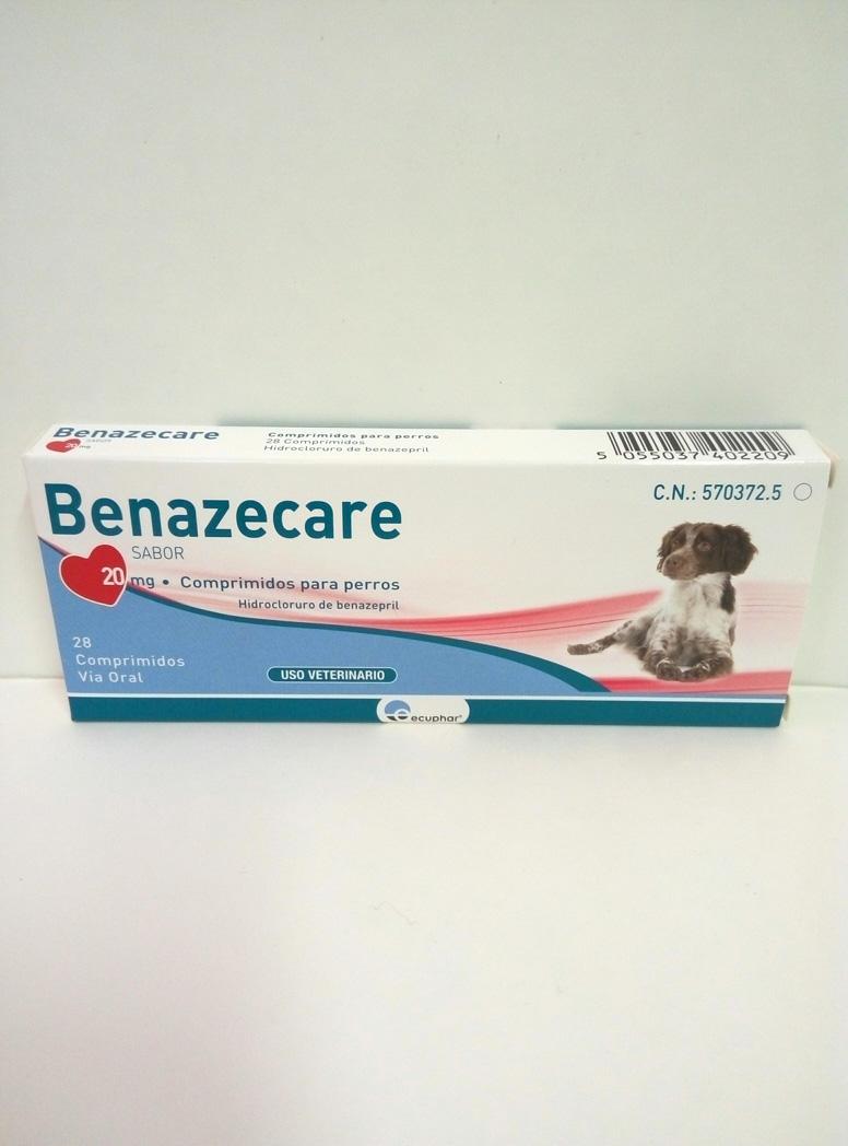 BENAZECARE 20mg - 28 Comprimidos